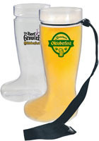 Customized 1 Liter Boot Beer Mugs