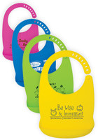 #IL505 Promotional Silicone Baby Bibs