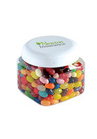 #MGSQC8JBS Personalized Jelly Bellys Large Snack Canisters
