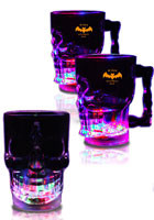 14 oz Promotional Light Up Skull Cups
