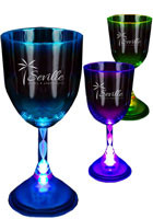 10 oz. Acrylic Wine Glasses with LED Light | WCLIT802