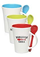 Promotional 10 oz. Two-tone Spooner Mugs