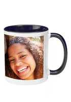 Customized 11 oz. Two Tone Ceramic Photo Mugs - No Minimum