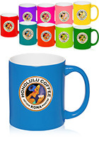 7108 - 7108 11 oz. Neon Color Custom Ceramic Mugs