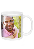 Promotional 11 oz. White Ceramic Photo Mugs - No Minimum