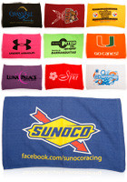 Customized Printed Terry Loop Hemmed Sports towels