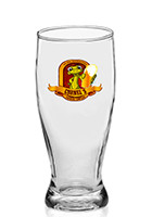 DG94 - DG94 12 oz.  Logo Pilsner Glasses