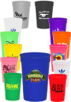 SC12 - 12 oz. Plastic Stadium Cups