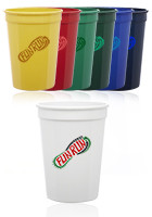 12 oz.  Plastic Stadium Cups | SC12
