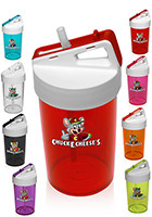 PG173 13 oz Custom Kids Straw Water Bottles