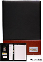 Wholesale 13 x 9.25 in. Two-Tone Engraved Portfolios