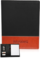 Personalized 13 x 9.25 in. Two-Tone Large Notebook
