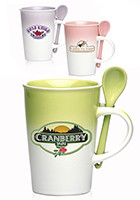 Wholesale 14 oz Pastel Gradient Ceramic Mugs