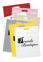 Personalized Die Cut Handle Bags