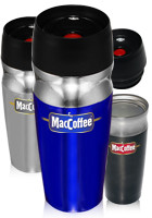 16 oz. Double Insulated Engraved Travel Mugs | TM660