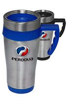 16 oz. Stainless Steel Travel Mugs with Handles