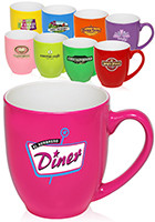 Wholesale 16oz Fluorescent Bistro Mugs