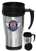 ST18 - #ST18 14oz Stainless Steel Travel Mugs