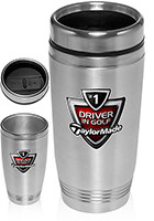 Customized 16oz Stainless Steel Tumbler travel mugs