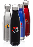 Stainless Steel Cola Shaped Flasks