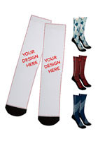 Bulk 18 Inch Dye Sublimated Socks - Pair
