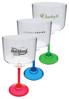 Personalized 18 oz. Standard Stem Margarita Glasses
