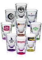 DG307 - 2 oz. Heavy Glass Shot Glasses at Wholesale Prices