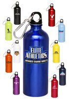 AB101 - #AB101 20oz. Custom Aluminum Water Bottles