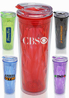 Translucent Plastic Travel Mugs