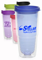 24 oz. Double Wall Orbit  Acrylic Tumblers | PG154