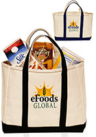 Promotional 13W x 8H Cruiser Canvas Tote Bags