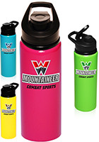 custom neon water bottles