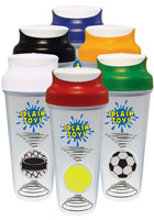 Customized 28 oz. Sport Themed Pogo Blender Bottles