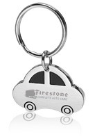 Customized Car Shape Metal Keychains