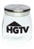 Custom 32 oz. Logo Glass Candy Jars