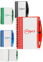 Personalized 4.2 x 6.2 in Deco Spiral Notebooks