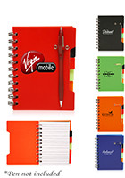 Promotional 4.3 x 6 in. Multitab Small Notebooks