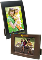 #IL3624 Personalized 4 x 6 Faux Wood Frames