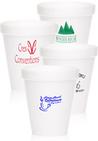 #DC6FOAM Custom 6oz Tall Styrofoam Coffee Cups