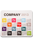 Customized Rectangular Calendar Mousepads