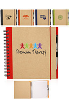 Promotional 7.75 x 8 in. Recycled Square Notebook