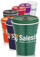 Promotional Game Day Cup with Lid 16oz