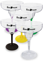 Customized Acrylic Plastic 12 oz. Standard Stem Margarita Glasses