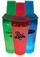 Wholesale Acrylic Plastic 20oz Single Light Cocktail Shakers