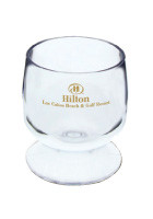 Bulk Acrylic Plastic 2oz Brandy Glasses