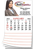 Customized Add-A-Pad 12 Month Calendar 2.75inch x 3.5inch Magnets