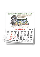 Custom Add-A-Pad 12 Month Calendar 2.75inch x 3.5inch Magnets