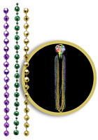 Disco Ball Mardi Gras Bead Necklaces | WCJLR090