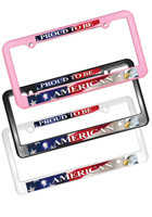 AK8040004 Full Color Custom License Plate Frames