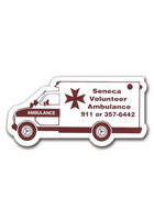 Personalized Ambulance 2.88in x 1.38in Magnets